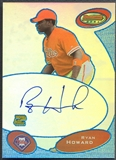 2003 Bowman's Best #RH Ryan Howard Blue Rookie Auto