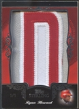 "2007 Topps Sterling Ryan Howard Letter ""D"" Patch #1/1"