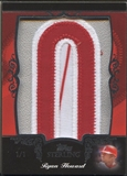 "2007 Topps Sterling Ryan Howard Letter ""O"" Patch #1/1"