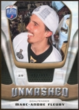 2009/10 Upper Deck Be A Player Goalies Unmasked #GU3 Marc-Andre Fleury /499