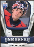 2009/10 Upper Deck Be A Player Goalies Unmasked #GU5 Jose Theodore /499