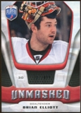 2009/10 Upper Deck Be A Player Goalies Unmasked #GU6 Brian Elliott /499