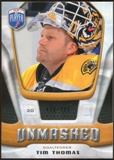 2009/10 Upper Deck Be A Player Goalies Unmasked #GU9 Tim Thomas /499