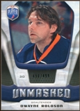 2009/10 Upper Deck Be A Player Goalies Unmasked #GU13 Dwayne Roloson /499