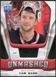 2009/10 Upper Deck Be A Player Goalies Unmasked #GU14 Cam Ward /499