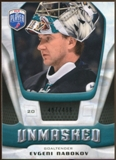 2009/10 Upper Deck Be A Player Goalies Unmasked #GU16 Evgeni Nabokov /499