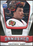 2009/10 Upper Deck Be A Player Goalies Unmasked #GU17 Cristobal Huet /499