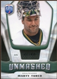 2009/10 Upper Deck Be A Player Goalies Unmasked #GU25 Marty Turco /499