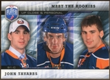 2009/10 Upper Deck Be A Player Meet The Rookies #MR1 John Tavares /499