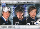 2009/10 Upper Deck Be A Player Meet The Rookies #MR2 Victor Hedman /499