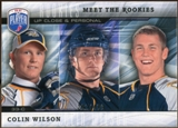 2009/10 Upper Deck Be A Player Meet The Rookies #MR7 Colin Wilson /499