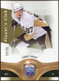 2009/10 Upper Deck Be A Player Player's Club #1 Sidney Crosby 23/25
