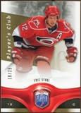 2009/10 Upper Deck Be A Player Player's Club #6 Eric Staal 18/25