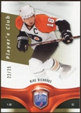 2009/10 Upper Deck Be A Player Player's Club #11 Mike Richards 22/25