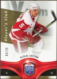 2009/10 Upper Deck Be A Player Player's Club #12 Nicklas Lidstrom 3/25