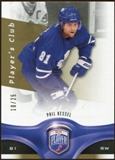 2009/10 Upper Deck Be A Player Player's Club #19 Phil Kessel 10/25