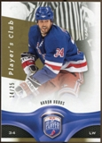 2009/10 Upper Deck Be A Player Player's Club #35 Aaron Voros 14/25