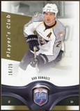 2009/10 Upper Deck Be A Player Player's Club #41 Dan Hamhuis 16/25