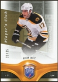 2009/10 Upper Deck Be A Player Player's Club #46 Milan Lucic /25