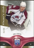 2009/10 Upper Deck Be A Player Player's Club #61 Paul Stastny 21/25