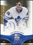 2009/10 Upper Deck Be A Player Player's Club #76 Jean-Sebastien Giguere /25