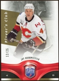 2009/10 Upper Deck Be A Player Player's Club #79 Jay Bouwmeester /25