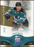2009/10 Upper Deck Be A Player Player's Club #84 Patrick Marleau /25