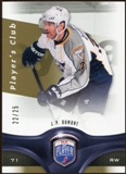 2009/10 Upper Deck Be A Player Player's Club #94 J.P. Dumont /25