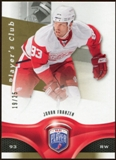 2009/10 Upper Deck Be A Player Player's Club #97 Johan Franzen /25