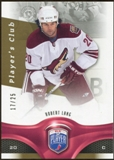 2009/10 Upper Deck Be A Player Player's Club #104 Robert Lang /25