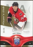 2009/10 Upper Deck Be A Player Player's Club #107 Chris Campoli /25