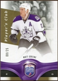 2009/10 Upper Deck Be A Player Player's Club #111 Matt Greene /25