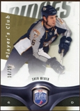 2009/10 Upper Deck Be A Player Player's Club #115 Shea Weber /25