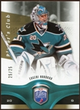 2009/10 Upper Deck Be A Player Player's Club #130 Evgeni Nabokov /25