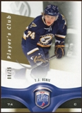 2009/10 Upper Deck Be A Player Player's Club #133 T.J. Oshie /25
