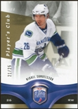 2009/10 Upper Deck Be A Player Player's Club #134 Mikael Samuelsson /25
