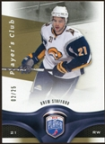 2009/10 Upper Deck Be A Player Player's Club #136 Drew Stafford /25