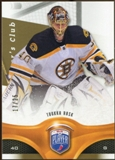 2009/10 Upper Deck Be A Player Player's Club #144 Tuukka Rask /25