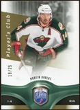 2009/10 Upper Deck Be A Player Player's Club #145 Martin Havlat 19/25