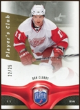 2009/10 Upper Deck Be A Player Player's Club #154 Dan Cleary /25