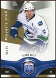 2009/10 Upper Deck Be A Player Player's Club #160 Henrik Sedin /25