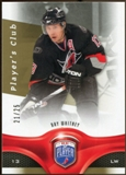 2009/10 Upper Deck Be A Player Player's Club #162 Ray Whitney 21/25