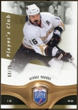 2009/10 Upper Deck Be A Player Player's Club #168 George Parros 9/25