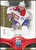 2009/10 Upper Deck Be A Player Player's Club #179 Scott Gomez 19/25
