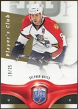 2009/10 Upper Deck Be A Player Player's Club #187 Stephen Weiss 10/25