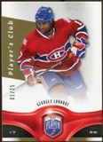 2009/10 Upper Deck Be A Player Player's Club #199 Georges Laraque 1/25