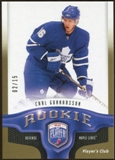 2009/10 Upper Deck Be A Player Player's Club #215 Carl Gunnarsson /15