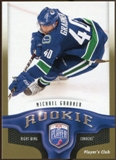 2009/10 Upper Deck Be A Player Player's Club #234 Michael Grabner /15