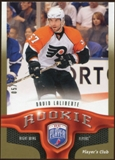 2009/10 Upper Deck Be A Player Player's Club #236 David Laliberte 5/15