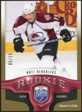2009/10 Upper Deck Be A Player Player's Club #240 Matt Hendricks 5/15